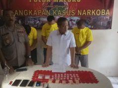 Pesta Nyabu di Rumah Dinas Wagub Maluku, Dua ASN dan Polisi Ditangkap
