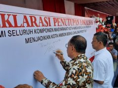 Hindari Penyebaran virus HIV, Kemensos Resmi Tutup Lokalisasi Tanjung Batu Merah