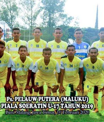 Piala Soeratin 2019, PS Pelauw Putra U-17 Kalahkan PS Blitar U-17