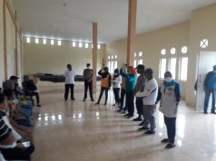 Lawan Covid-19, Pemneg Pelauw Sulap Balai Desa Jadi Posko Karantina