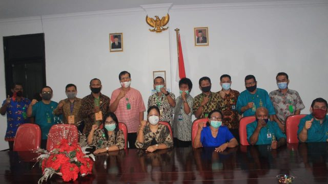 PKY Maluku Silaturahmi Dengan PN Ambon