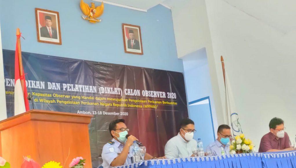 KKP Latih 20 Calon Observer Kapal Perikanan di BPPP Ambon